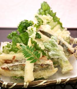 レシピうなぎ天ぷら